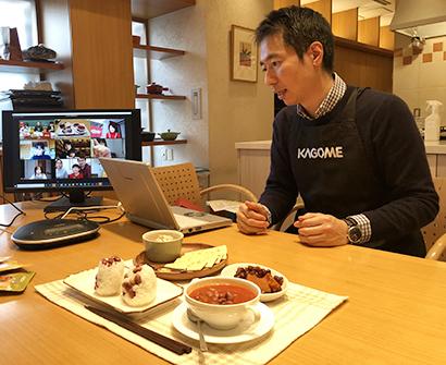 カゴメ、「農園応援」でアレンジ豆料理講座 生産者と消費者がオンラインで交流