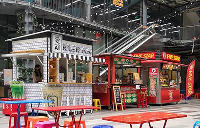 タイなどで屋台出店広がる 景気回復の切り札か