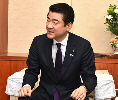 新春特集第1部:新春インタビュー 野上浩太郎農林水産大臣に聞く