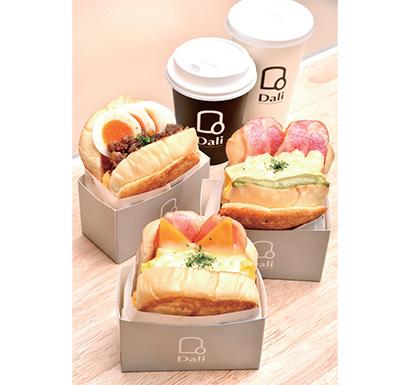 写真1 船場トースト 430円~(税込み)