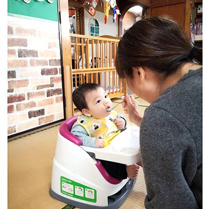 保育園では子どもの成長に適したレシピを提供