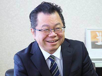 関東小売/北関東・新潟新春特集:清水商事・江畑貴正社長 若い世代獲得へ