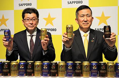 サッポロビール、2つの価値を徹底訴求 ビールはプレミアム化推進