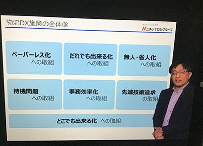Hard&Soft新春特集:内田洋行オンラインセミナー=ニチレイロジグループ…