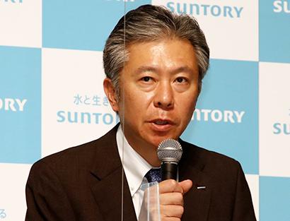 """フォーカスin:サントリーBWS・鳥井信宏社長 """"小ハレ""""需要獲得目指す"""