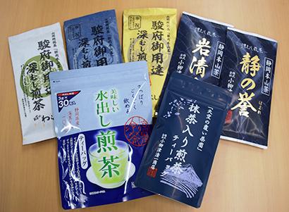 小柳津清一商店、「天空」冠した商品展開 緑茶で攻勢、ブランド力向上狙う