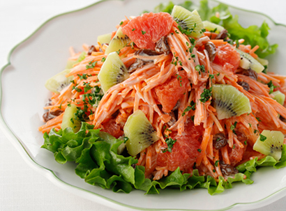 サラダカフェ、「美サラダ」シリーズなど春の味覚の新2品