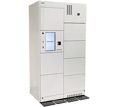 フクシマガリレイ、受取用コールドロッカー発売 冷凍・冷蔵に対応