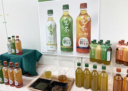 """""""環境""""フラッグシップブランドとして育成の「生茶」"""