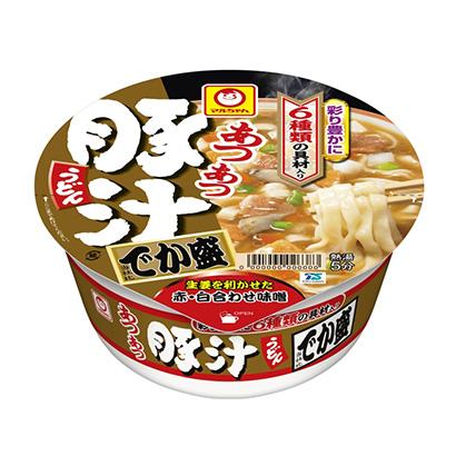 「マルちゃん あつあつ豚汁うどん でか盛」発売(東洋水産)