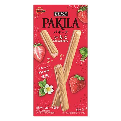 「パキーラ いちご」発売(ブルボン)