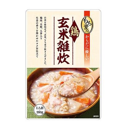 「もち麦入り鶏玄米雑炊」発売(一番食品)