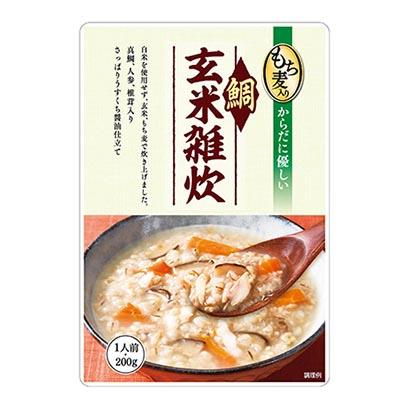 「もち麦入り鯛玄米雑炊」発売(一番食品)