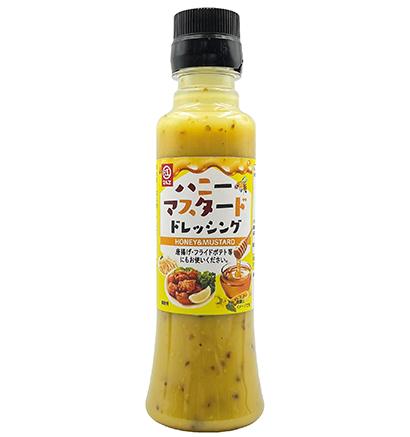 マヨネーズ・ドレッシング特集:マルヱ醤油 「ハニーマスタード」など2品登場