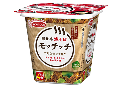即席麺特集:エースコック 「スーパーカップMAX」「モッチッチ」活性化へ販促…