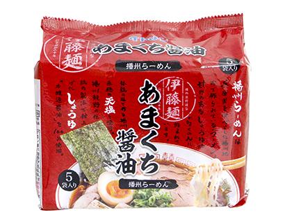 即席麺特集:イトメン 「あまくち醤油らーめん」発売 次世代の柱に育成