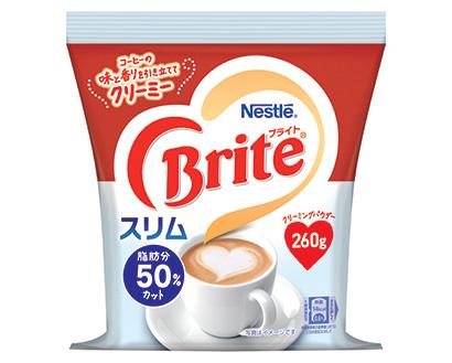 コーヒー・コーヒー用クリーム特集:コーヒー用クリーム=ネスレ日本 低脂肪タイ…