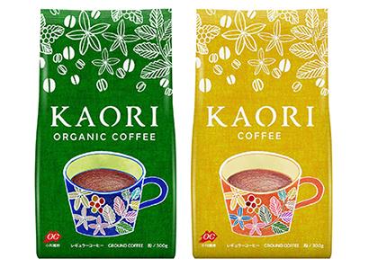 コーヒー・コーヒー用クリーム特集:小川珈琲 女性狙い「カオリ」2種