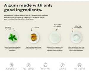 環境に優しい生分解性ガムがフランスで注目 脱プラスチックは多様な食品に拡大