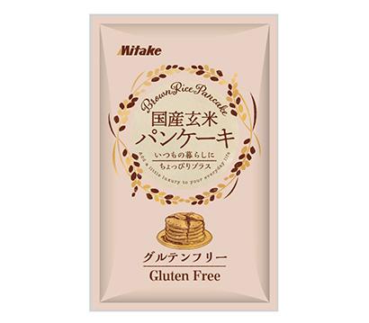 みたけ食品工業、「国産玄米パンケーキ」発売 通販限定で4種の味