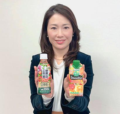 カゴメ・飲料事業春夏戦略 ビタミン訴求強化など野菜不足解消取組む