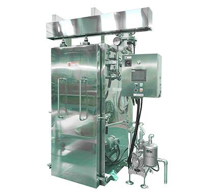 2021モバックショウ:品川工業所 パン種の真空冷却機でダメージを大幅抑制