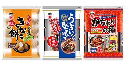 米菓特集:越後製菓 定番比率引き上げ 「ふんわり名人」が進化