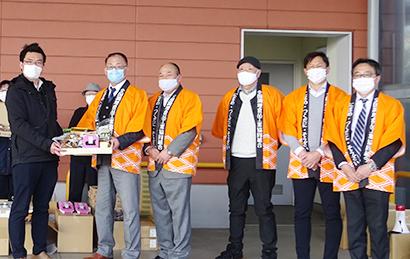 全調食東日本ブロック会、茨城の子ども食堂へ佃煮など寄贈