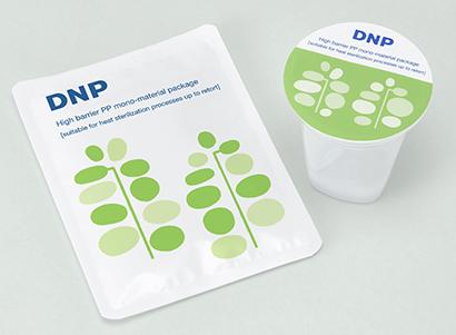 大日本印刷、充填後加熱殺菌対応のモノマテリアル包材開発