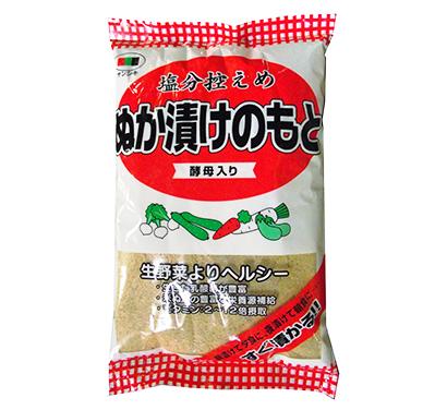 いりぬか・ぬか漬けの素特集:三色香辛料 簡便商品、通販を強化