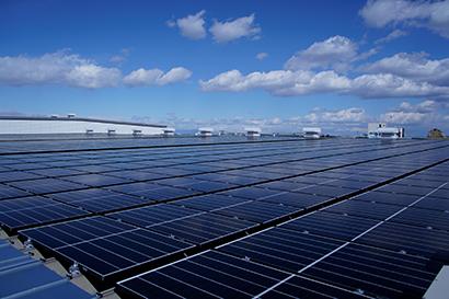 中部流通特集:キリンビール名古屋工場、太陽光パネル設置