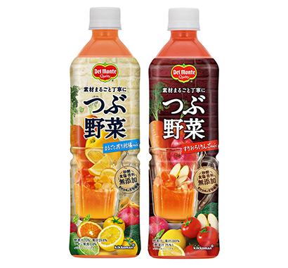 野菜・果実飲料特集:キッコーマン飲料 「つぶ野菜」好調推移