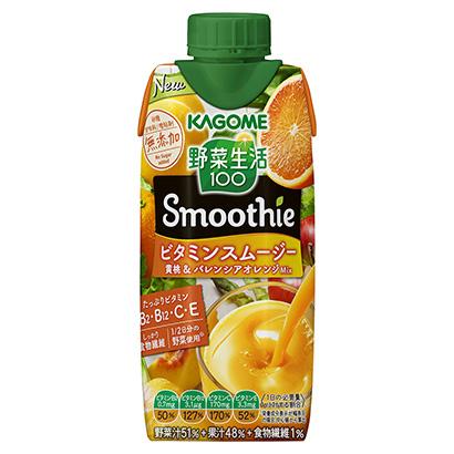 「野菜生活100 Smoothie ビタミンスムージー 黄桃&バレンシアオレ…