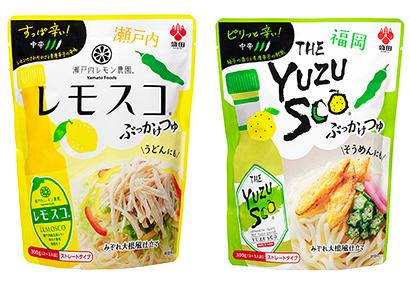 つゆ特集:盛田 大人向け辛み麺つゆ2品を発売