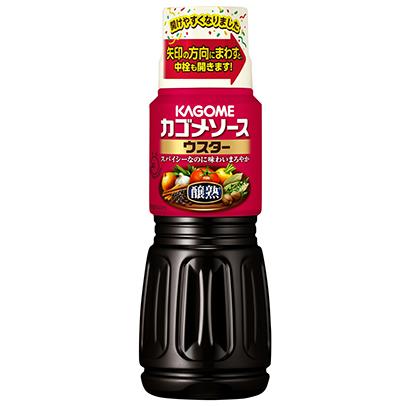 ソース特集:カゴメ 「醸熟ソース」容器改良 カレーとの好相性訴求
