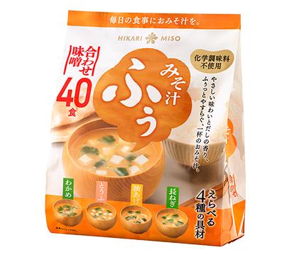 即席味噌汁特集:ひかり味噌 徳用・大容量品が好調