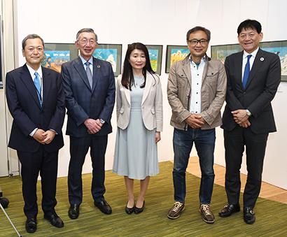国連WFP協会、「SDGsユーモアイラスト原画展」東京・丸の内で18日まで開…