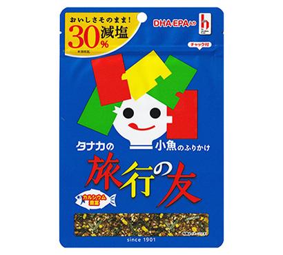 ふりかけ・お茶漬け特集:田中食品 創業120周年 「旅行の友」に減塩タイプ
