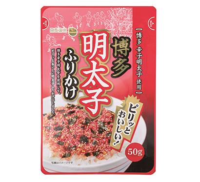 ふりかけ・お茶漬け特集:日本海水 新商品「博多明太子ふりかけ」拡販