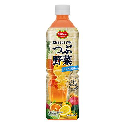 「デルモンテ つぶ野菜 まるごと搾り柑橘mix」発売(キッコーマン飲料)