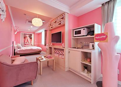 栃木グランドホテル、新ホテルオープン 目玉、岩下の新生姜の部屋
