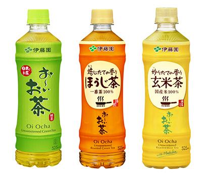 茶系飲料特集:伊藤園 茶葉の健康性を訴求 ドリンクとリーフ連動