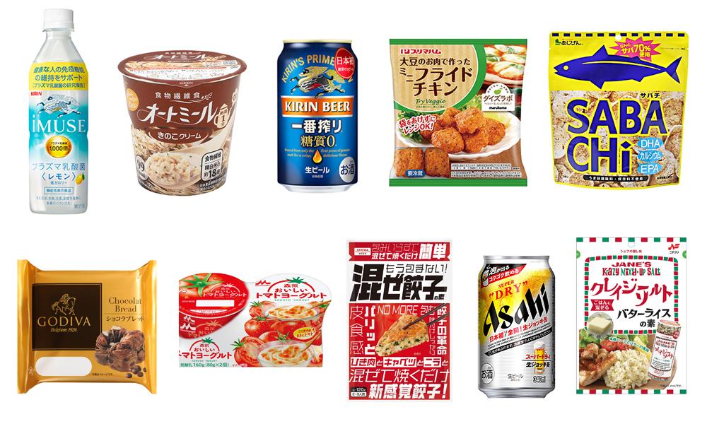 新しい生活様式に対応し消費マインドをつかむ10の食品カテゴリー