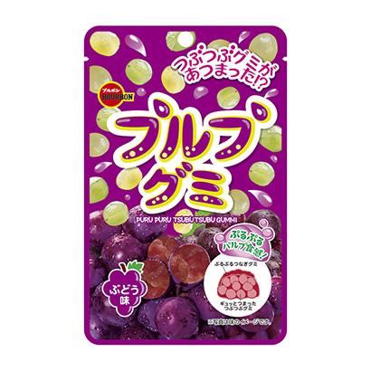 「プルプグミ ぶどう味」発売(ブルボン)