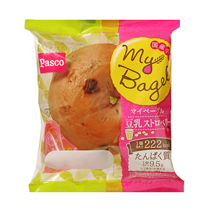 「My Bagel 豆乳ストロベリー」発売(敷島製パン)