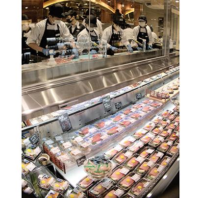 国産本生マグロの希少部位をメニュー提案=キッチン&マーケット