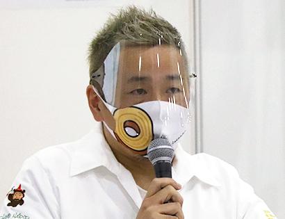 FABEX2021:クラブハリエ・山本隆夫社長講演 脱プラスチック推進