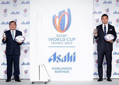 アサヒビール、ラグビーW杯ワールドワイド・パートナーに