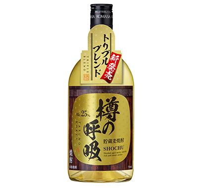本格焼酎特集:小正醸造 コンペで注目「蔵の師魂」 炭酸割り訴求を継続