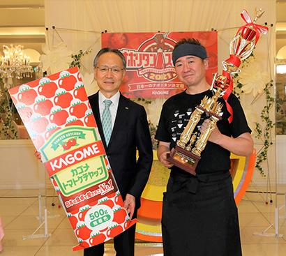カゴメ「ナポリタンスタジアム」 北陸代表「麺屋いく蔵」がグランプリに選出